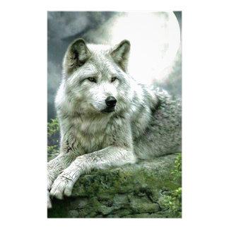Best Selling Imaginative Wolf Art Illustration Pai Customized Stationery