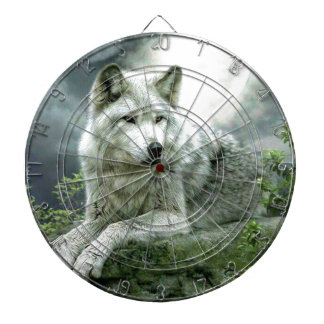 Best Selling Imaginative Wolf Art Illustration Pai Dart Boards