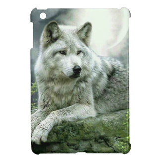 Best Selling Imaginative Wolf Art Illustration Pai iPad Mini Covers