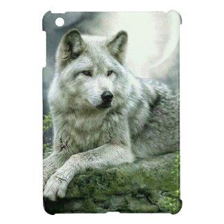 Best Selling Imaginative Wolf Art Illustration Pai iPad Mini Covers