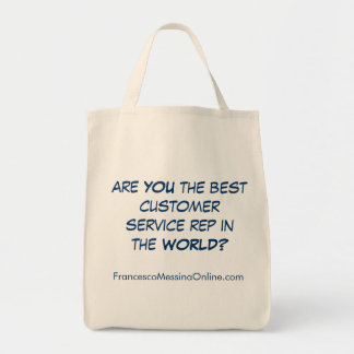 Best Service Rep Tote