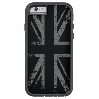 Best Silver Union Jack Grunge Flag Tough Xtreme iPhone 6 Case