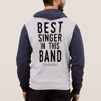 Best Singer (probably) (blk) Hoodie