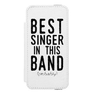 Best Singer (probably) (blk) Incipio Watson™ iPhone 5 Wallet Case
