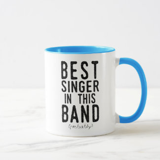 Best Singer (probably) (blk) Mug