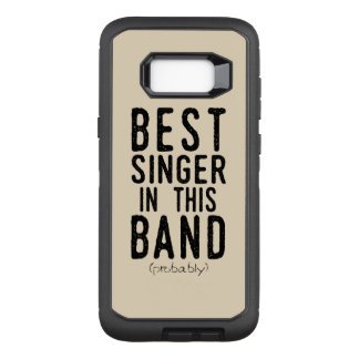 Best Singer (probably) (blk) OtterBox Defender Samsung Galaxy S8+ Case