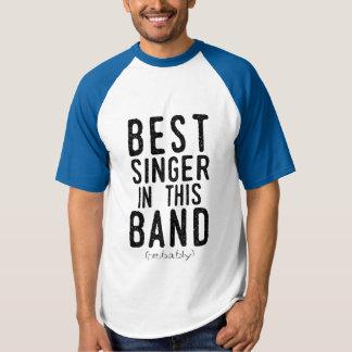Best Singer (probably) (blk) T-shirt
