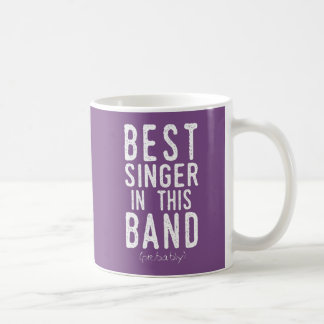 Best Singer (probably) (wht) Coffee Mug