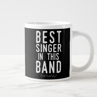 Best Singer (probably) (wht) Large Coffee Mug