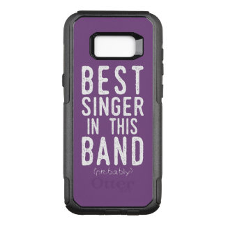 Best Singer (probably) (wht) OtterBox Commuter Samsung Galaxy S8+ Case