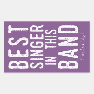 Best Singer (probably) (wht) Sticker