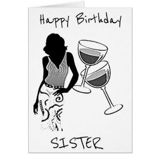 ***BEST SIS AND BEAUTIFUL LADY*** ON YOUR BIRTHDAY CARD