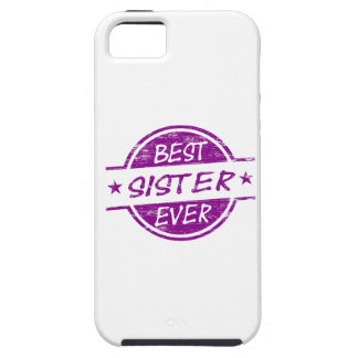 Best Sister Ever Purple iPhone 5 Cases