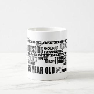 Best Sixty Five Year Olds : Greatest 65 Year Old Basic White Mug