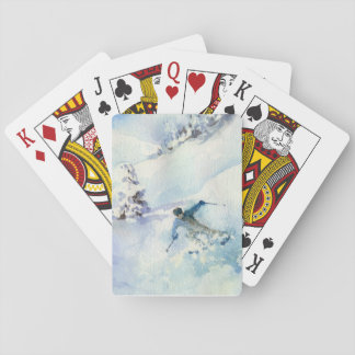 Best Snow of the Season Playing Cards
