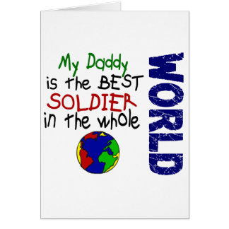 Best Soldier In World 2 (Daddy) Card