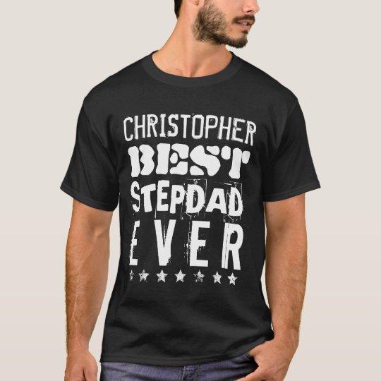 Best STEPDAD Ever Fun Grunge Text B12G T-Shirt