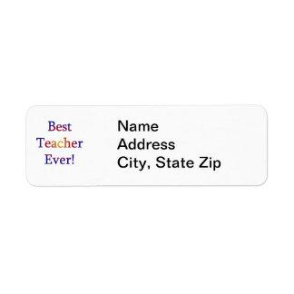 Best Teacher Ever