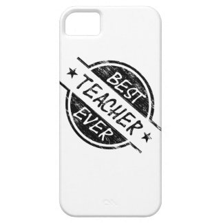 Best Teacher Ever Black Case For The iPhone 5