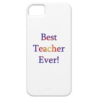 Best Teacher Ever Case For The iPhone 5