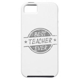 Best Teacher Ever Gray iPhone 5 Covers