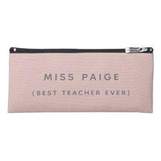 (BEST TEACHER EVER) PENCIL CASE