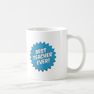 Best Teacher Ever Retro Style Coffee Mug