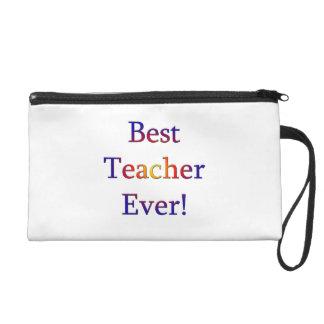 Best Teacher Ever Wristlet