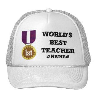 Best Teacher - Personalized Trucker Hat