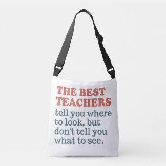 BEST TEACHERS custom monogram bags