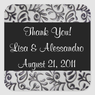 Best Thank You Favor Tags Name and Date