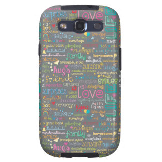 Best Things in Life Samsung Galaxy SIII Cover