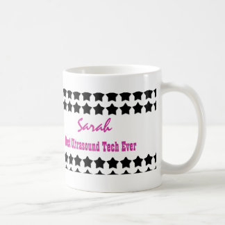 Best ULTRASOUND TECH Black Stars V25 Coffee Mug