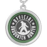 Best Version - OFFICIAL Sasquatch Hunter Design Round Pendant Necklace