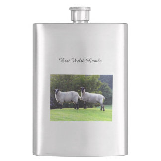 Best Welsh Lambs. Hip Flask