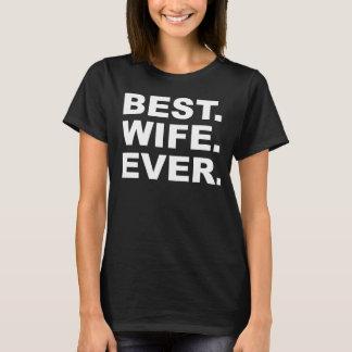 Best Wife Ever Black T-shirt