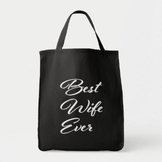 Best Wife Ever grocery bag