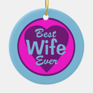 Best Wife Ever Personalized Photo Ornament