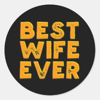 Best wife ever sticker