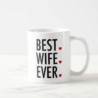 Best Wife Ever Valentines Day Coffee Mug