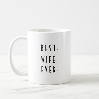Best Wife Ever with hearts mug