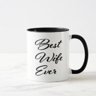 Best Wife Ever women's coffee mug
