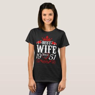Best Wife Since 1951 Valentine Gift Tshirt