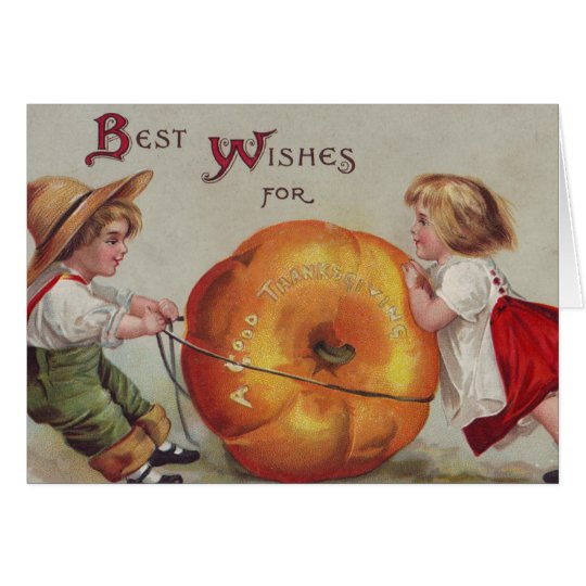 Best Wishes for a Good Thanksgiving Card