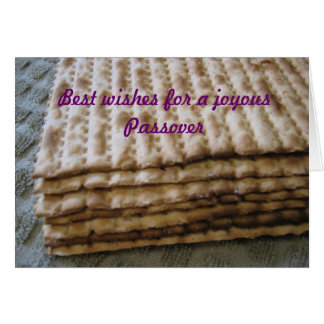 Best wishes for a joyous Passover Card