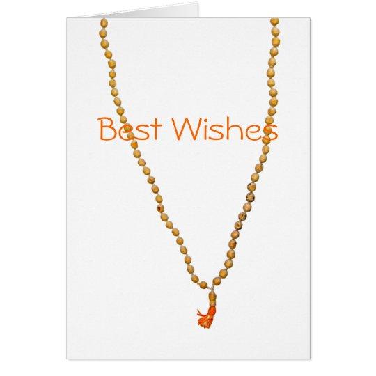 Best Wishes Hare Krishna Greeting Card