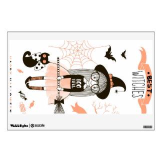Best Witches Happy Halloween Wall Sticker