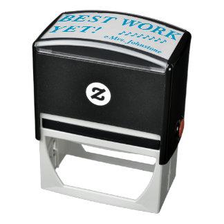 """BEST WORK YET!"" Assignment Marking Rubber Stamp"