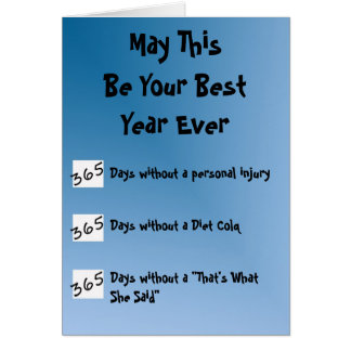 Best Year Ever! Card