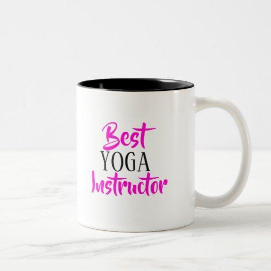Best YOGA instructor mug
